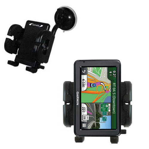 Windshield Holder compatible with the Garmin Nuvi 2455 2475LT 2495LMT 2455LMT