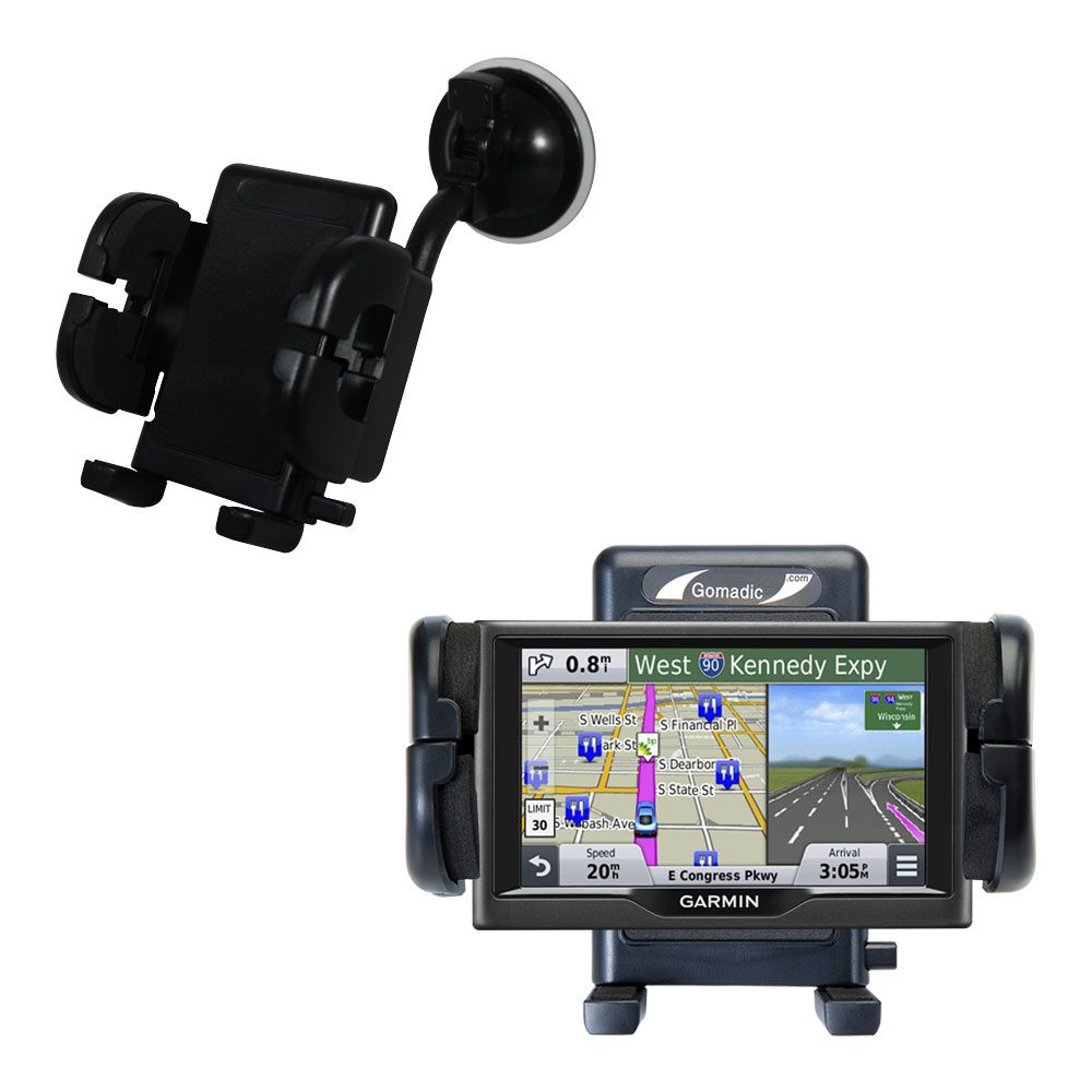 Windshield Holder compatible with the Garmin nuvi 67 / 68 LM LMT