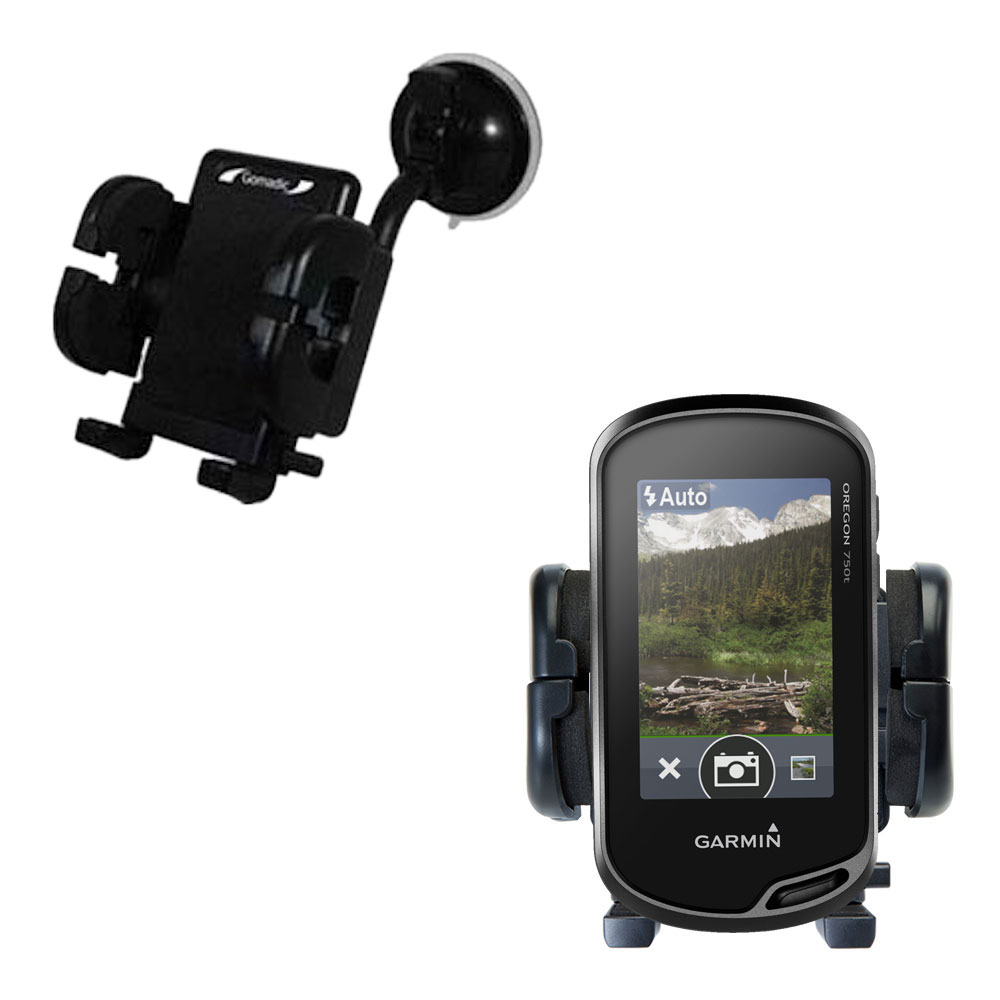 Windshield Holder compatible with the Garmin Oregon 700