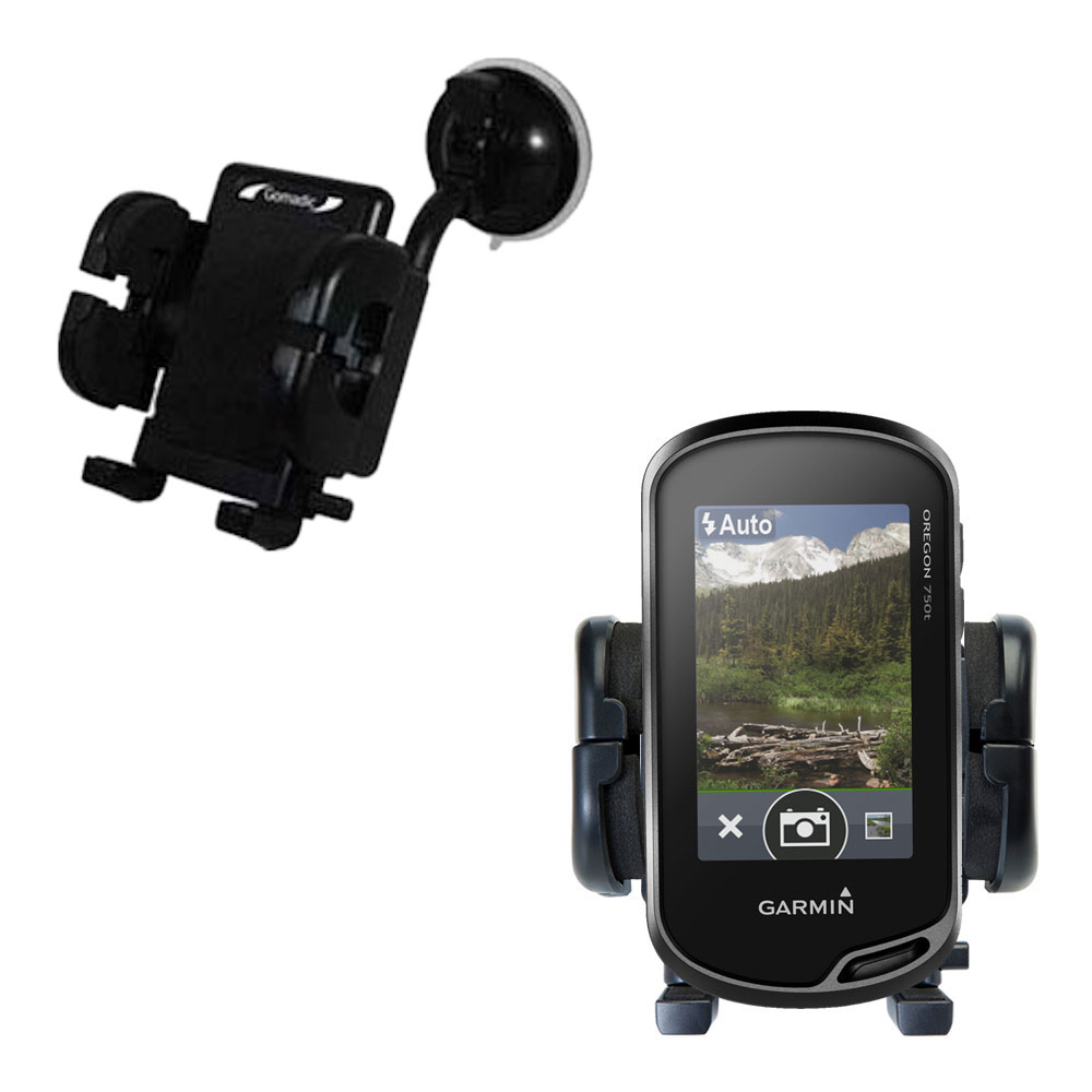 Windshield Holder compatible with the Garmin Oregon 750 / 750t