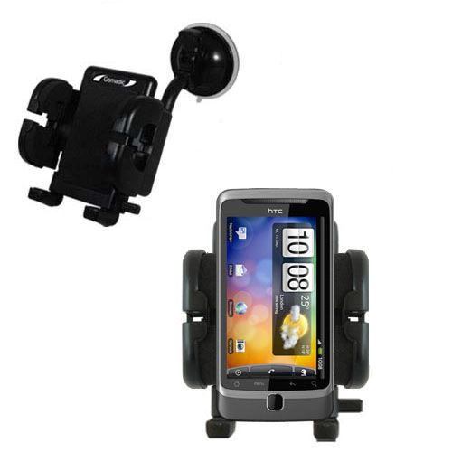 Windshield Holder compatible with the HTC Desire Z