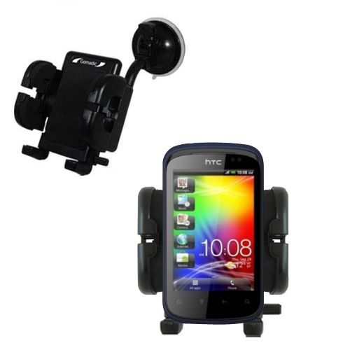 Windshield Holder compatible with the HTC Explorer