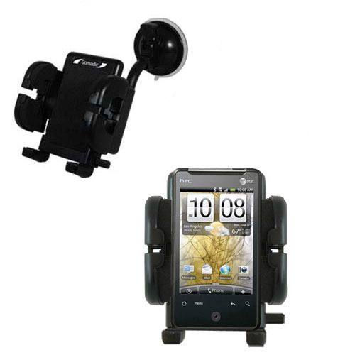 Windshield Holder compatible with the HTC Gratia