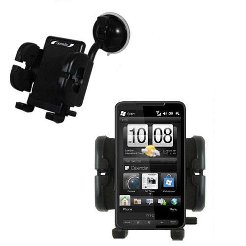 Windshield Holder compatible with the HTC HD2