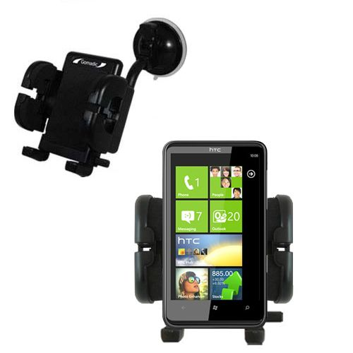 Windshield Holder compatible with the HTC HD7S