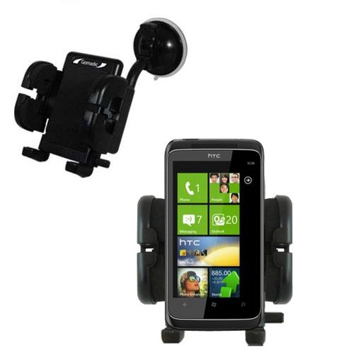 Windshield Holder compatible with the HTC Mazaa