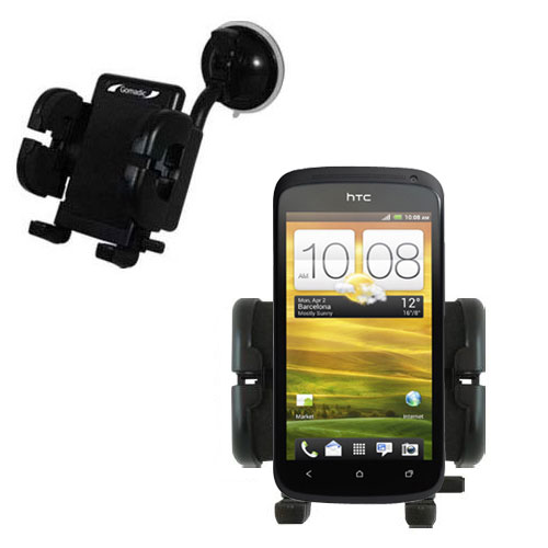 Windshield Holder compatible with the HTC One S / Ville