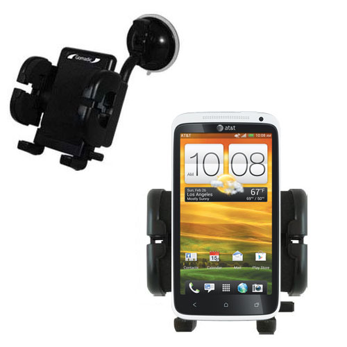 Windshield Holder compatible with the HTC One X