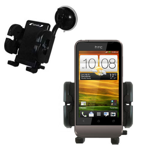 Windshield Holder compatible with the HTC Primo / T320e