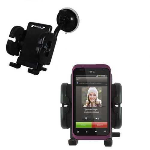 Windshield Holder compatible with the HTC Rhyme