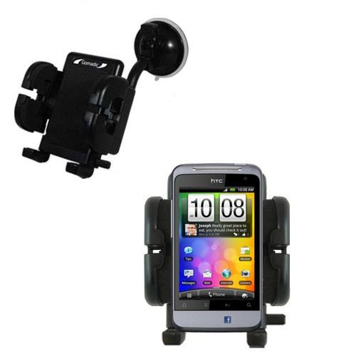 Windshield Holder compatible with the HTC Salsa