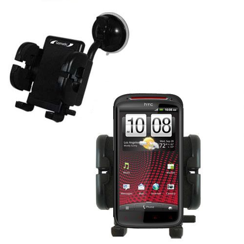 Windshield Holder compatible with the HTC Sensation XE