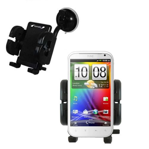 Windshield Holder compatible with the HTC Sensation XL
