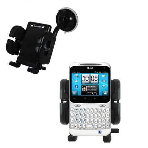 Windshield Holder compatible with the HTC Status