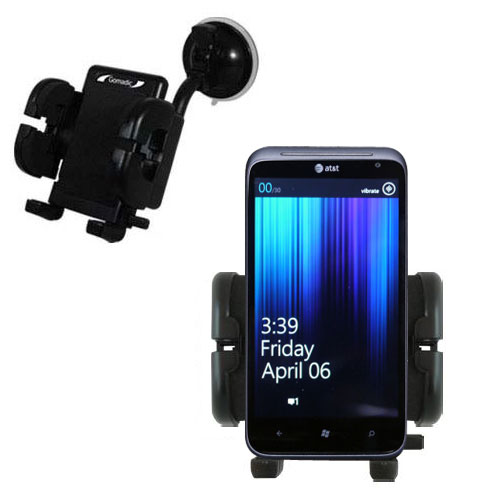 Windshield Holder compatible with the HTC Titan II
