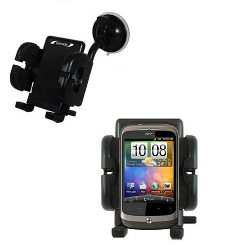 Windshield Holder compatible with the HTC Wildfire