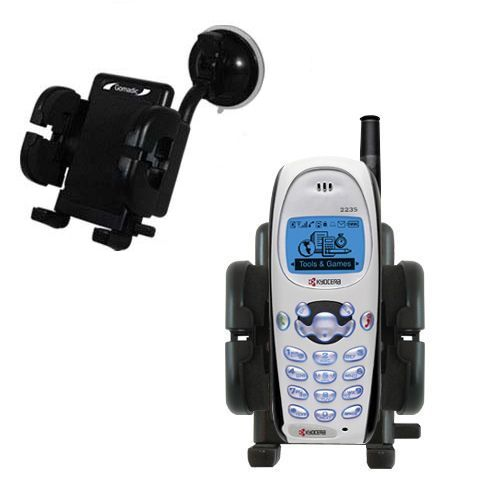 Windshield Holder compatible with the Kyocera KWC 2235