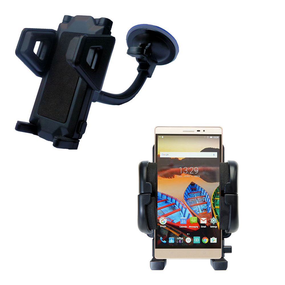 Windshield Holder compatible with the Lenovo PHAB 2 Pro