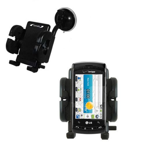 Windshield Holder compatible with the LG Ally