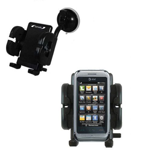Windshield Holder compatible with the LG Arena