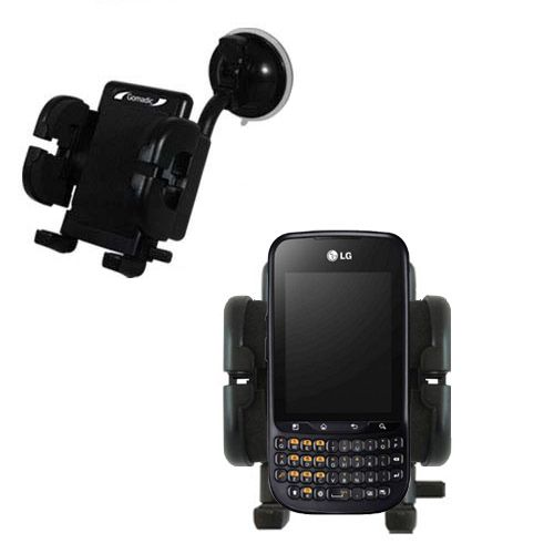 Windshield Holder compatible with the LG C660