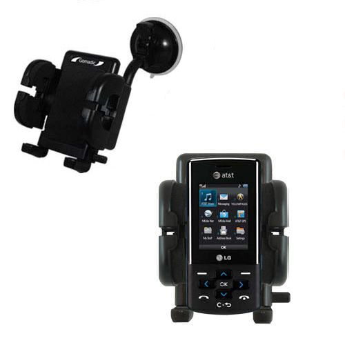 Windshield Holder compatible with the LG CF360