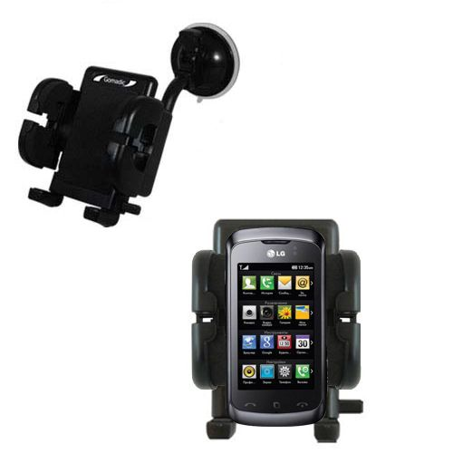 Windshield Holder compatible with the LG Clubby