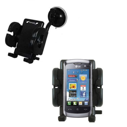 Windshield Holder compatible with the LG Cookie Live