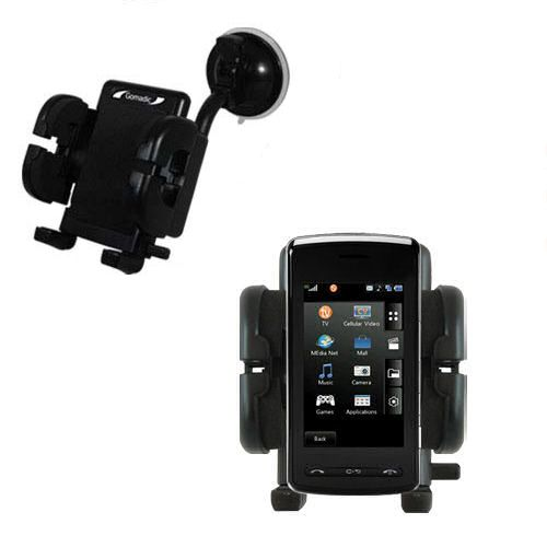 Windshield Holder compatible with the LG CU920