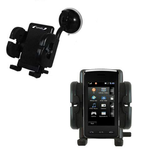 Windshield Holder compatible with the LG DARE