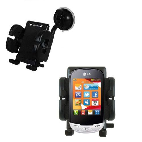 Windshield Holder compatible with the LG EGO Wi-Fi