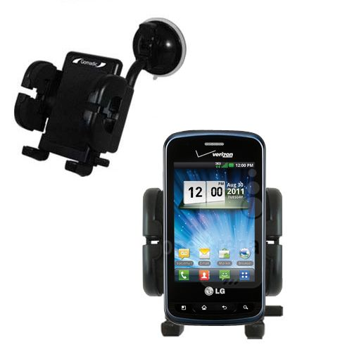 Windshield Holder compatible with the LG Enlighten
