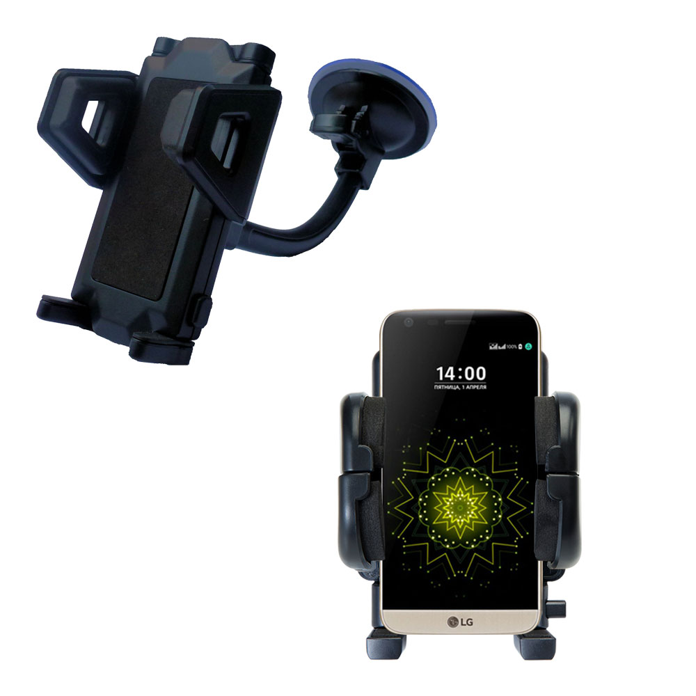 Windshield Holder compatible with the LG G5