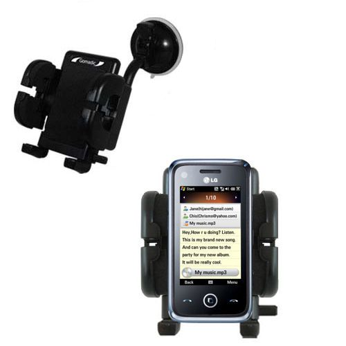 Windshield Holder compatible with the LG GM730