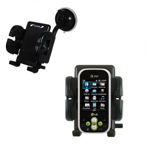 Windshield Holder compatible with the LG GT365
