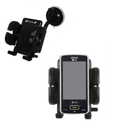 Windshield Holder compatible with the LG GW820 eXpo