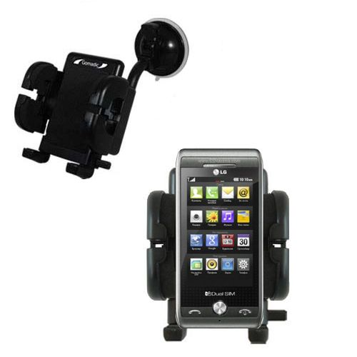 Windshield Holder compatible with the LG GX500