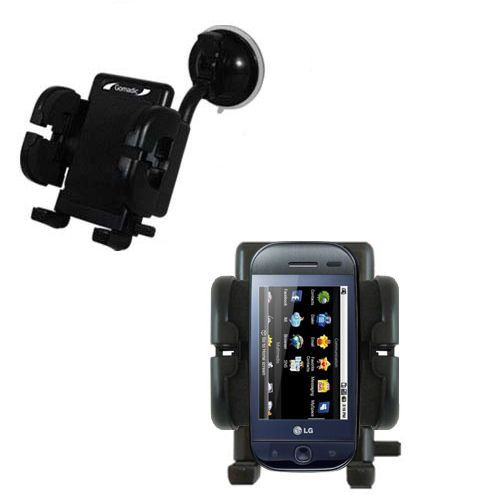 Windshield Holder compatible with the LG InTouch Max