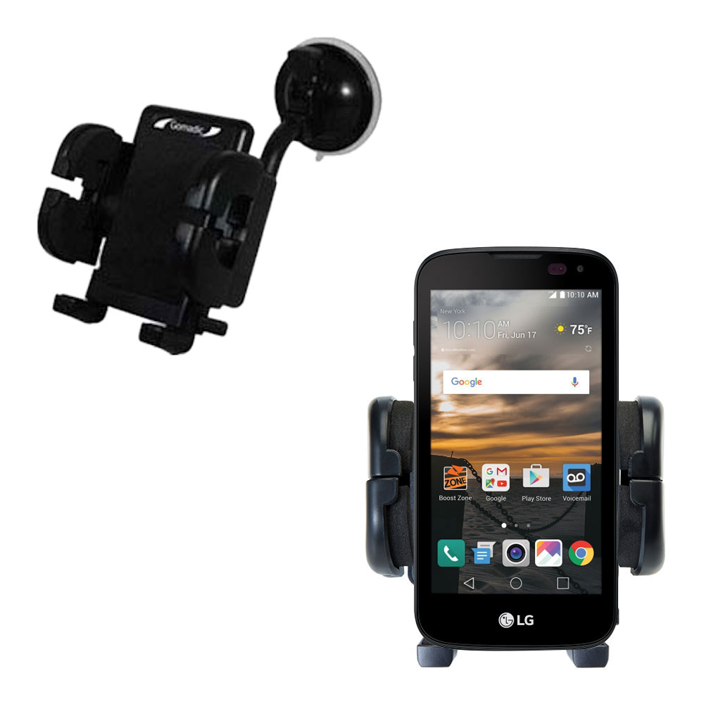 Windshield Holder compatible with the LG K3