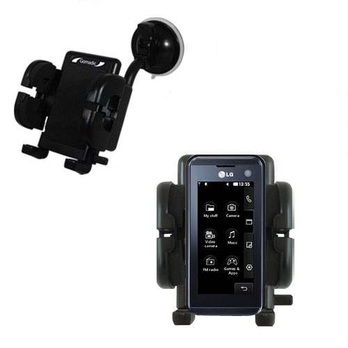 Windshield Holder compatible with the LG KF700 / FG-700