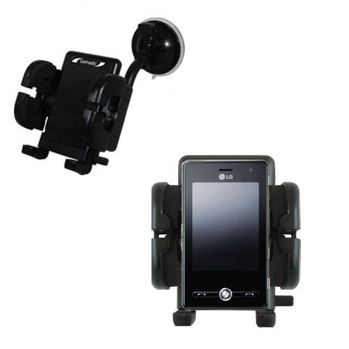 Windshield Holder compatible with the LG KS20