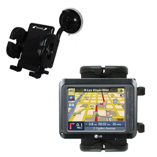 Windshield Holder compatible with the LG LN740