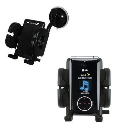 Windshield Holder compatible with the LG LX570 / LX-570