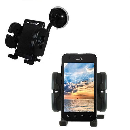 Windshield Holder compatible with the LG Marquee