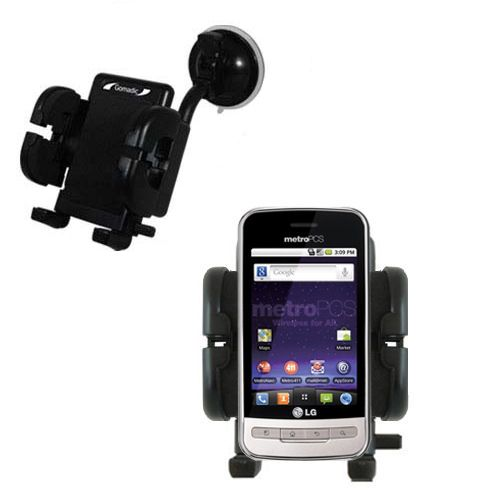 Windshield Holder compatible with the LG MS690