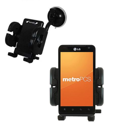 Windshield Holder compatible with the LG MS910