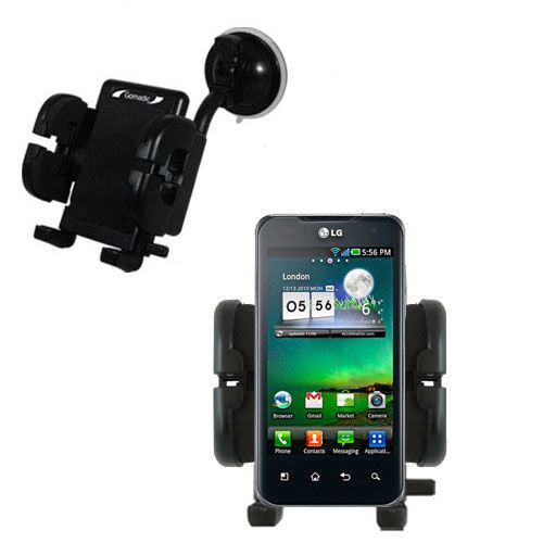 Windshield Holder compatible with the LG Optimus 2X