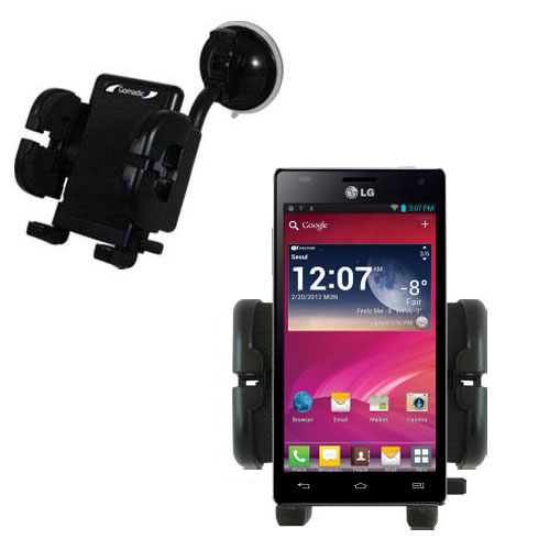 Windshield Holder compatible with the LG Optimus 4X HD