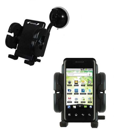 Windshield Holder compatible with the LG Optimus Chic