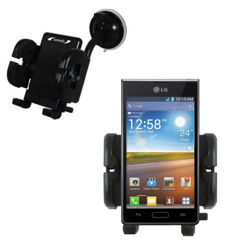 Windshield Holder compatible with the LG Optimus L7